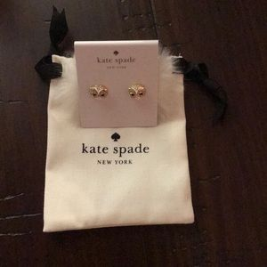 Kate Spade Reversible Owl Earrings